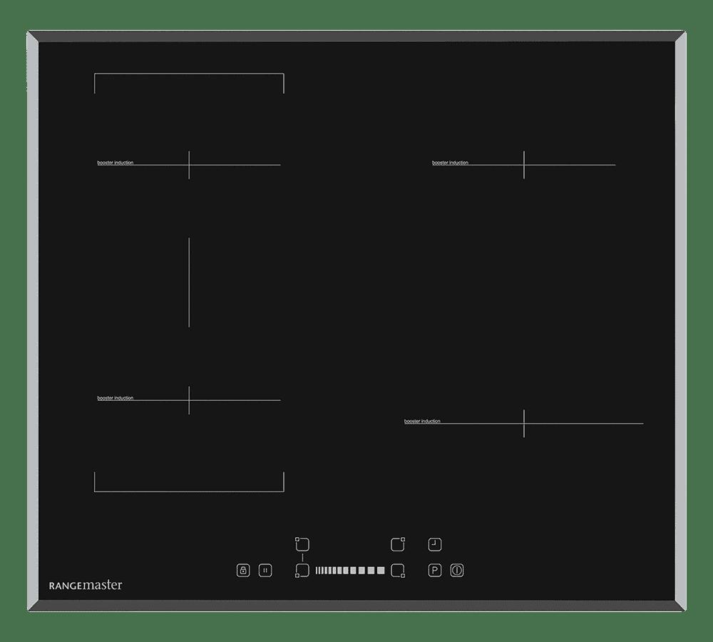 Rangemaster Eclipse induktionshäll 60 cm med bryggbara zoner