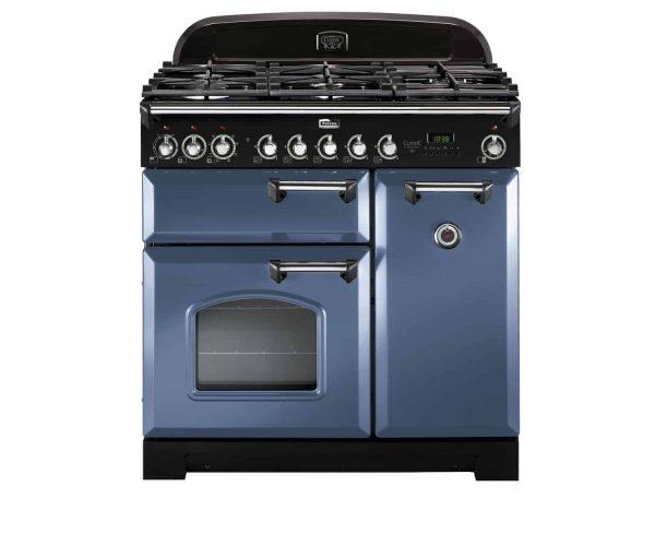 Classic Deluxe 90 med gashälll i nya färgen Stone blue